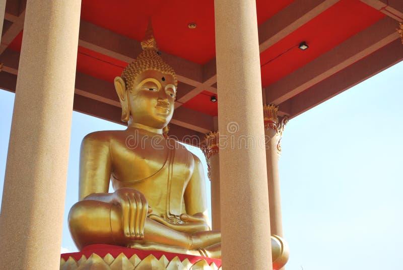 菩萨雕象, Muang,泰国 免版税库存图片