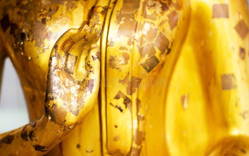 菩萨组成的雕象身分 特写镜头 库存图片
