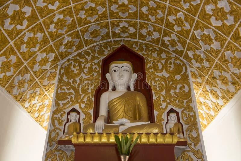 菩萨- Kakku寺庙-掸邦-缅甸 免版税库存图片