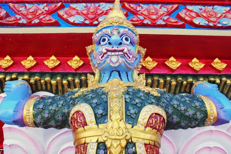 菩萨/Wat轰隆Riang在攀牙府,泰国 免版税库存图片