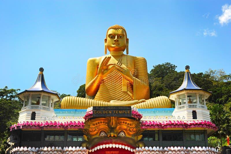 菩萨stupa,斯里兰卡 免版税库存照片