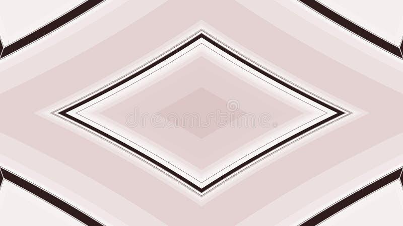 菱形或金刚石几何背景 抽象五颜六色的正方形几何设计 库存例证