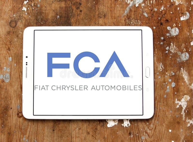 菲亚特克莱斯勒汽车, FCA公司商标 库存照片