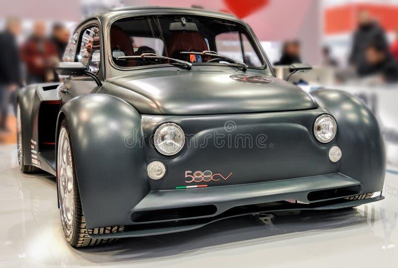 菲亚特500 Lamborghini 库存图片