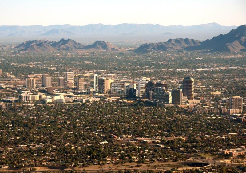 菲尼斯, AZ商业区 库存图片