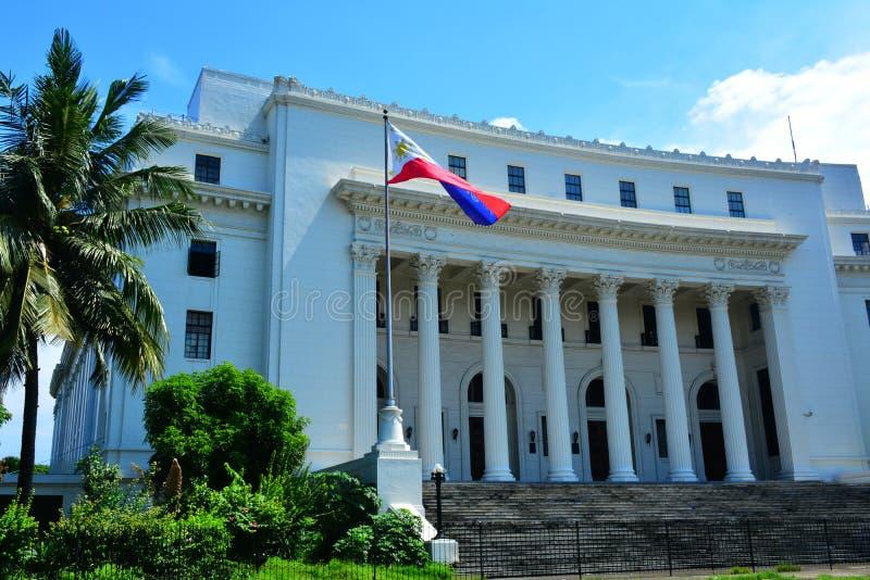 菲律宾人门面的博物馆在马尼拉,菲律宾 免版税库存照片