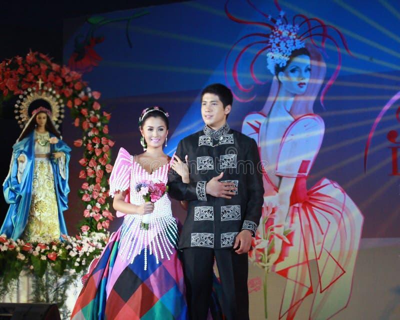 菲律宾女人女演员 免版税库存图片