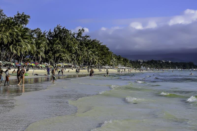 菲律宾海滩 免版税库存照片