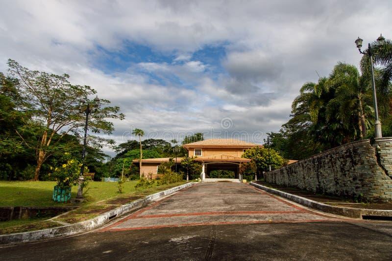 菲律宾甲米地博尼法乔神社,2019年10月26日 库存照片
