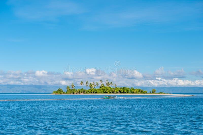 菲律宾的热带海岛 免版税库存图片