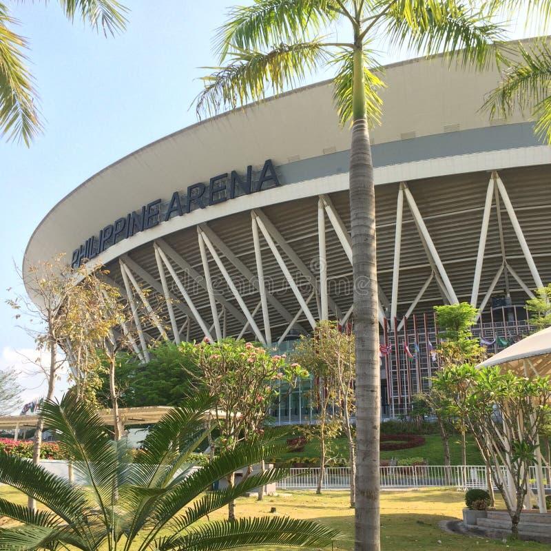 菲律宾竞技场白天 库存照片