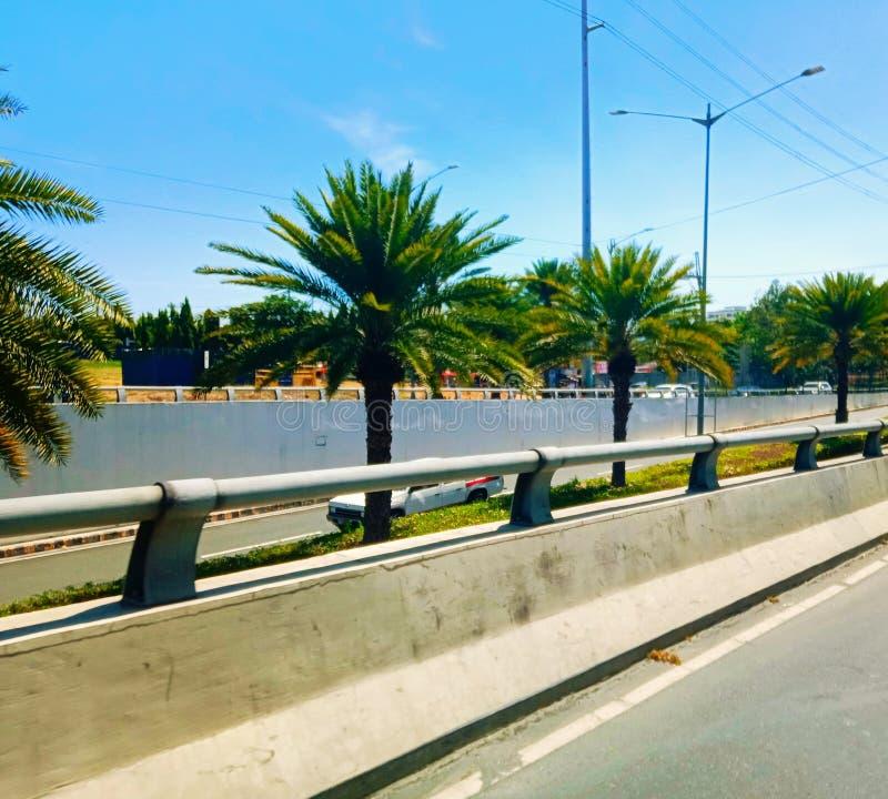 菲律宾马尼拉市文丁卢帕,阿拉邦西门中心 — 扎波特路 图库摄影