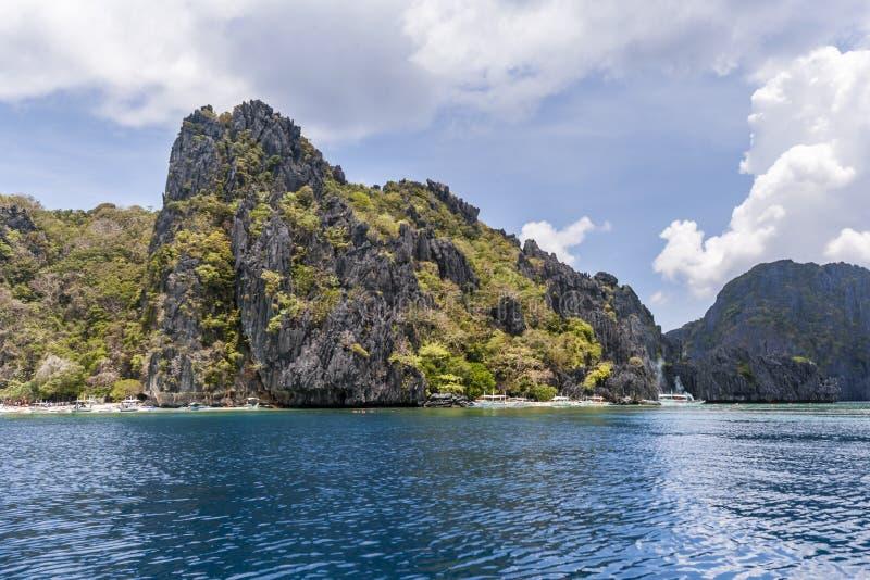 菲律宾,巴拉望岛 免版税图库摄影