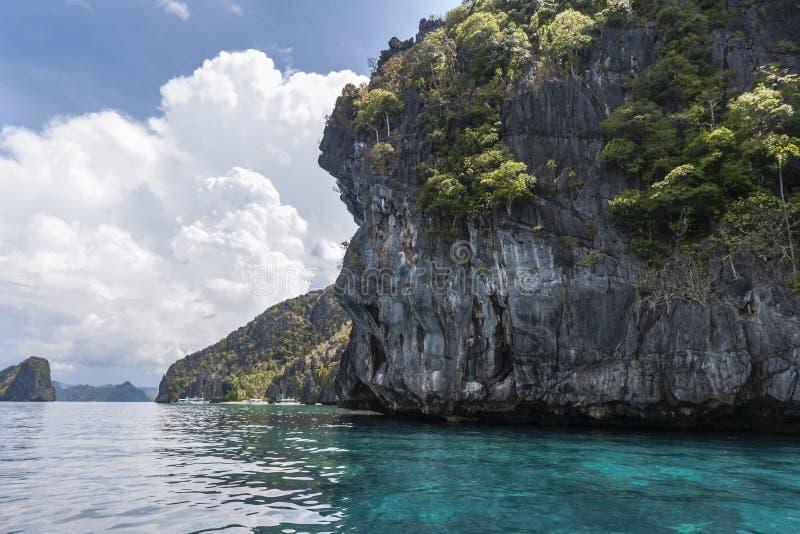 菲律宾,巴拉望岛 库存照片