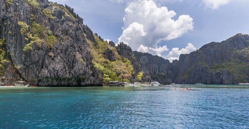 菲律宾,巴拉望岛 免版税库存图片