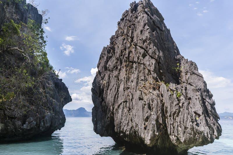 菲律宾,巴拉望岛 免版税库存照片