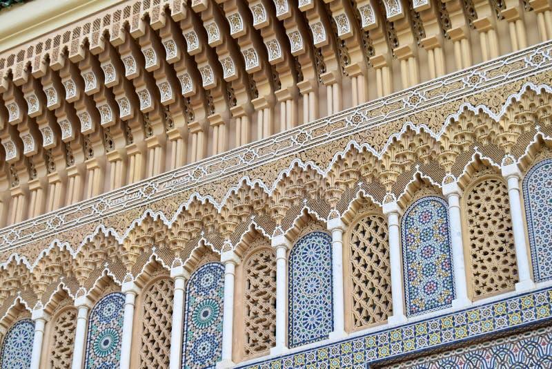 菲斯,摩洛哥胡同  免版税库存照片