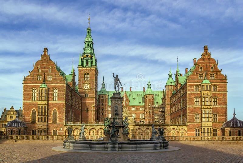 菲特列堡宫殿,丹麦 免版税库存图片
