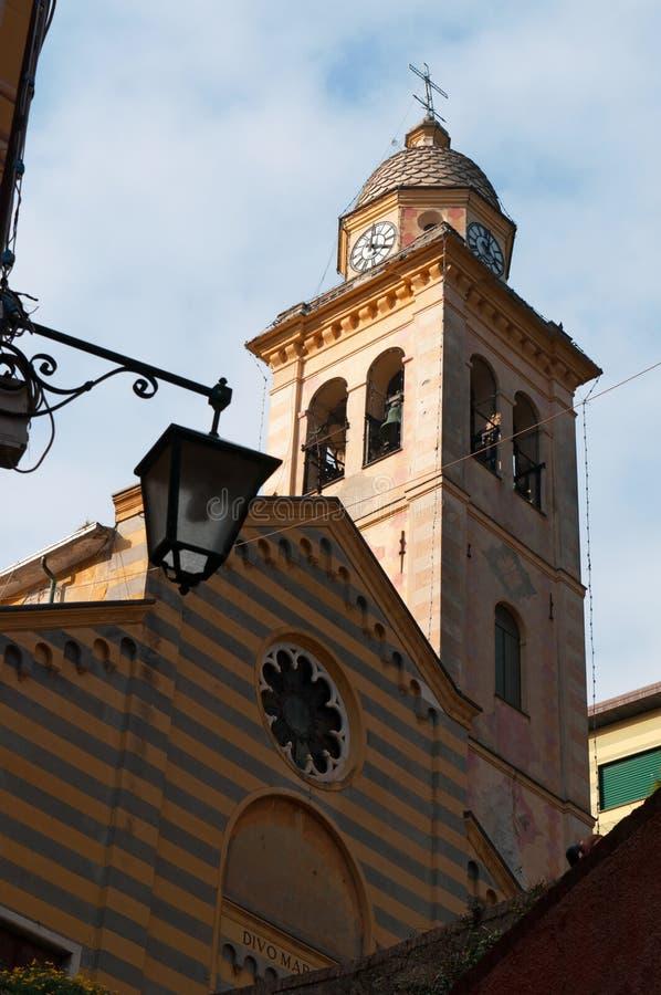 菲诺港,热那亚,利古里亚,意大利,意大利语里维埃拉,欧洲 图库摄影