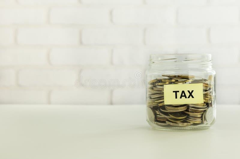 营业税挽救和财政准备 库存照片