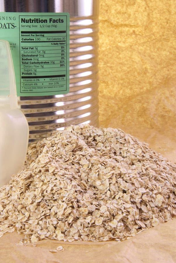 营养燕麦 免版税库存图片