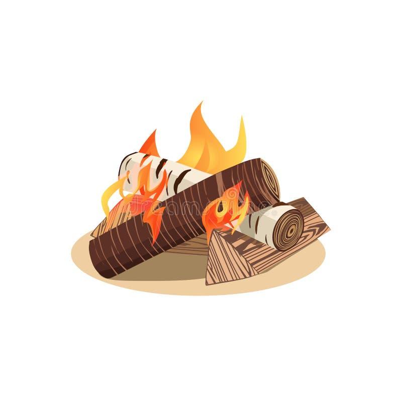 营火象概念 库存例证