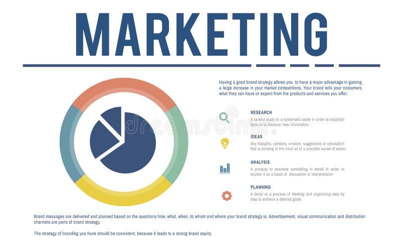 营销产品开发促进概念 向量例证