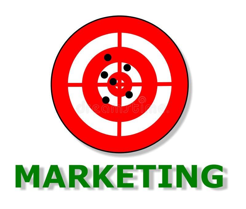 营销 向量例证