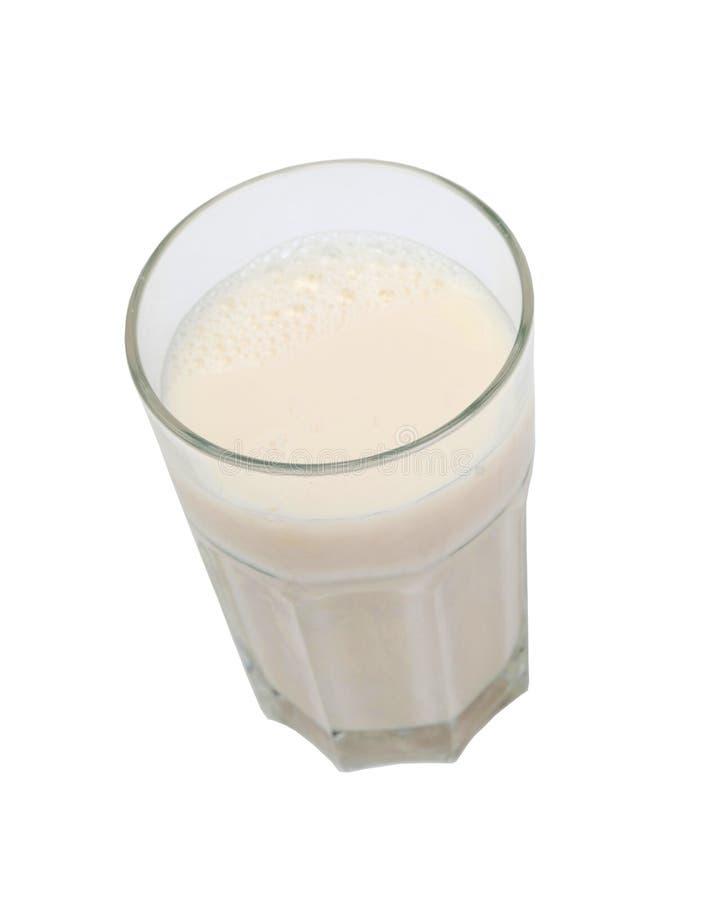 营养杯牛奶 免版税库存照片