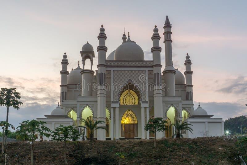 萨勒曼清真寺玛琅 库存图片