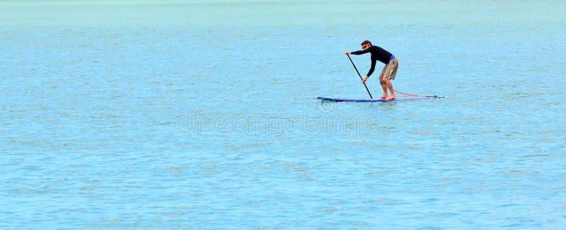 萨姆纳沿海海边克赖斯特切奇-新西兰 库存图片