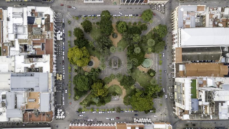 萨尔塔/萨尔塔/阿根廷 — 01 01 19:7月9日广场 州立公园 萨尔塔 阿根廷 免版税库存图片