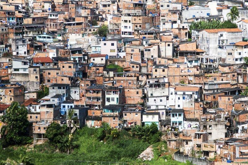 萨尔瓦多在巴伊亚,巴西 图库摄影