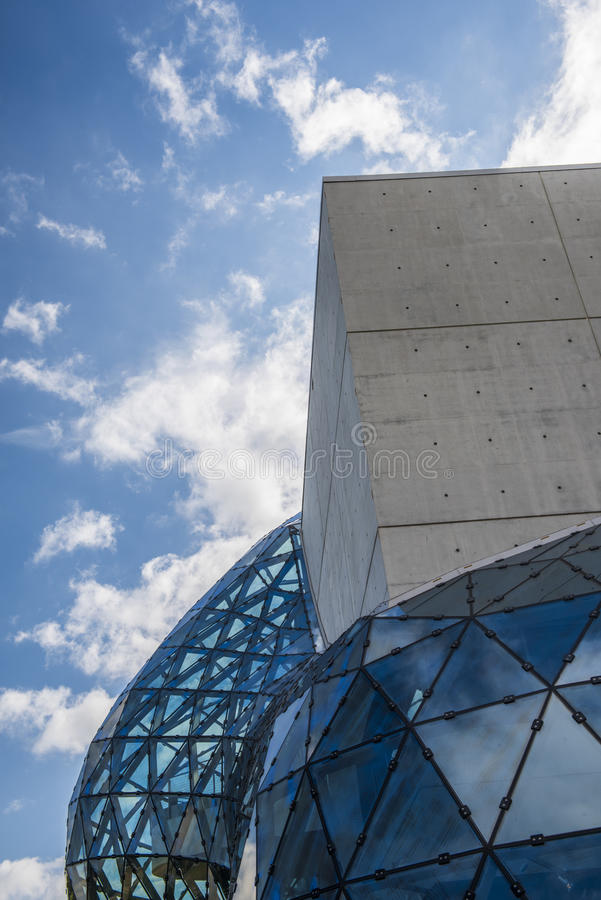 萨尔瓦多DalÃ博物馆圣彼德堡,佛罗里达,美国 库存图片
