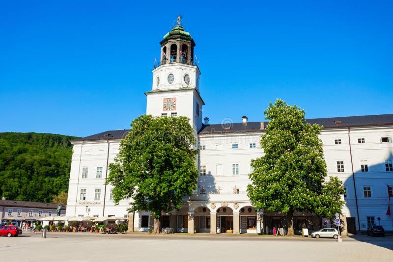 萨尔茨堡博物馆在萨尔茨堡 库存照片