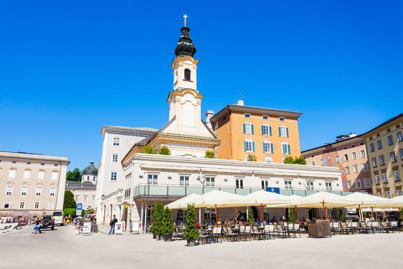 萨尔茨堡圣诞节博物馆,奥地利 库存图片
