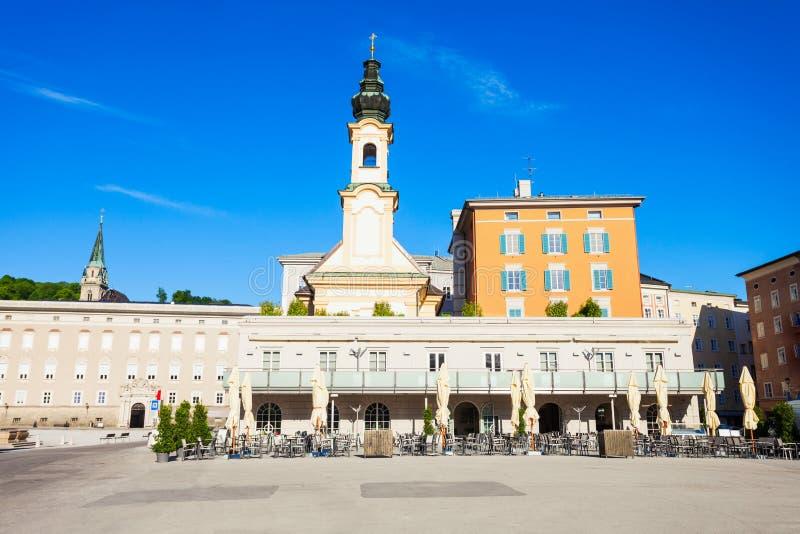萨尔茨堡圣诞节博物馆,奥地利 免版税库存图片