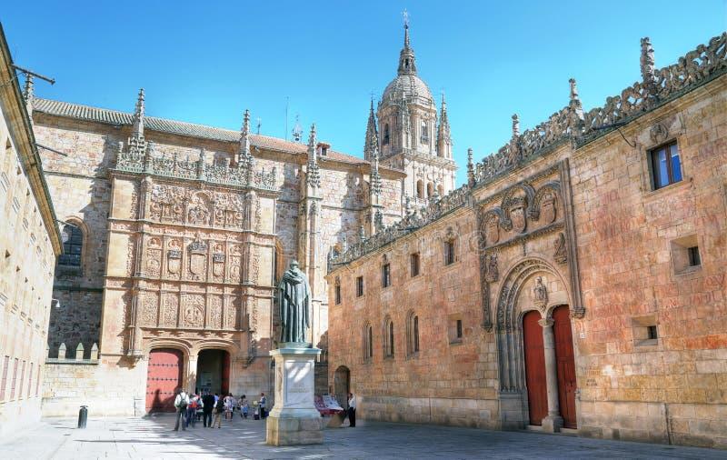 萨拉曼卡大学,西班牙 免版税库存照片