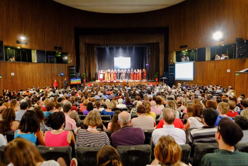 萨拉热窝和平事件2014年 免版税库存照片