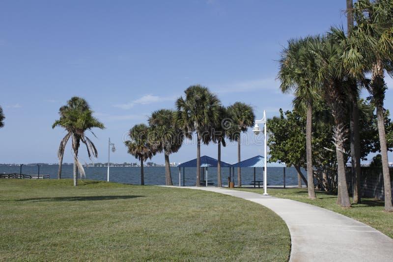 萨拉索塔,佛罗里达公园 库存照片