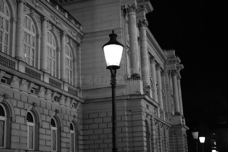 萨格勒布市中心街道 免版税库存照片