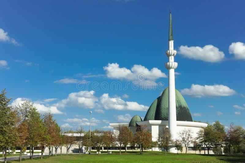 萨格勒布清真寺 库存图片