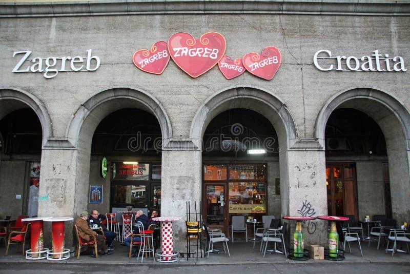 萨格勒布,克罗地亚, Dolac市场,细节, 1 免版税图库摄影
