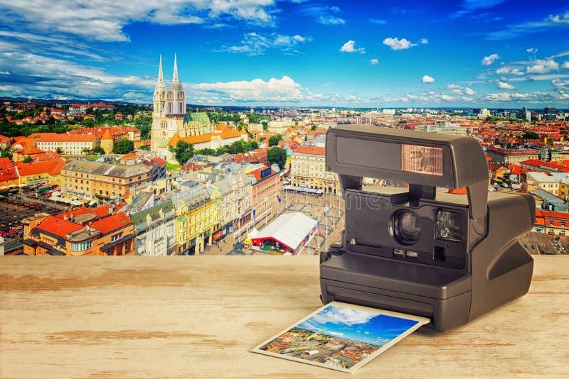 萨格勒布,克罗地亚 免版税库存图片