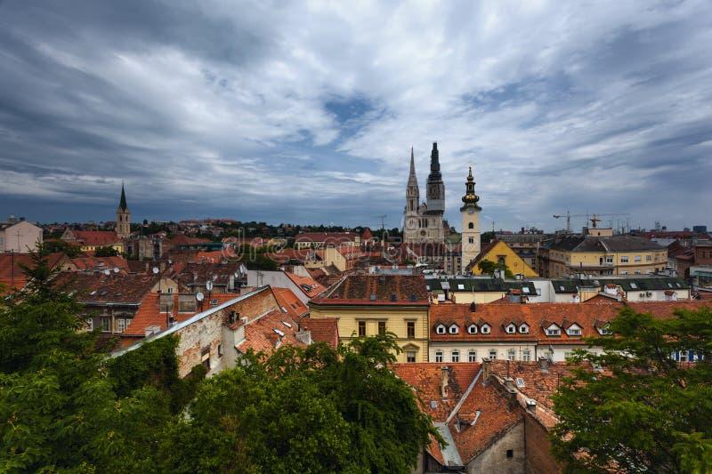 萨格勒布 克罗地亚 免版税库存图片