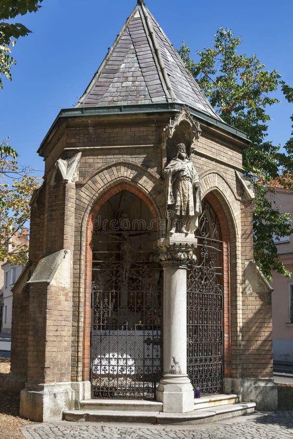萨格勒布Illyrian教堂 库存照片