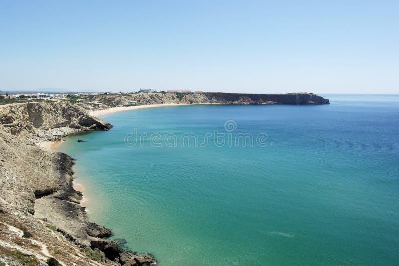 萨格里什,阿尔加威,葡萄牙 免版税库存照片