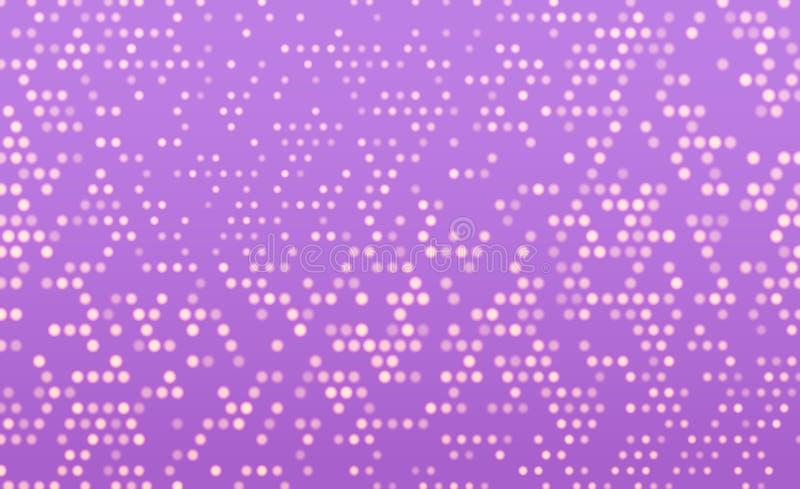 落的映象点 映象点抽象马赛克 库存例证