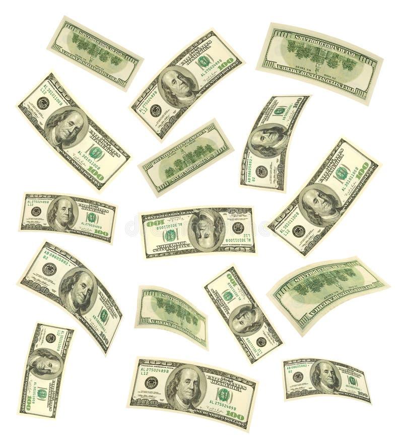 落的货币 库存图片