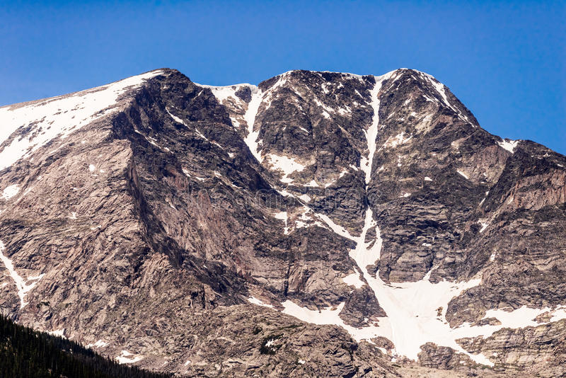 落矶山脉国家公园 免版税库存图片